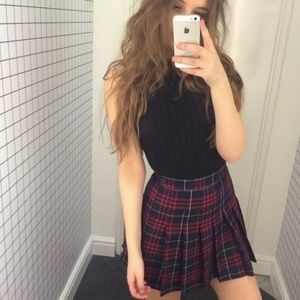 Johnny B plaid skirt